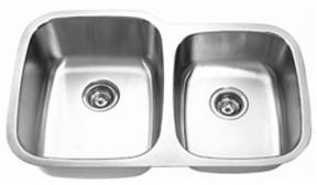 Undermount Stainless Steel Double Bowl Sink