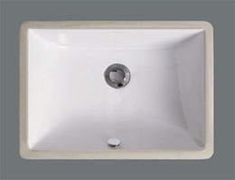Undermount Porcelain Sink  Rectangular Sink